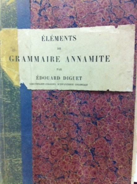 20170714 Elements de Grammaire Annamite